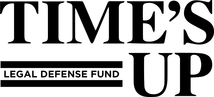 Time's Up Legal Defense Fund Logo
